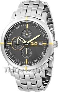 DOLCE&GABBANA MEN'S WATCH D&G OXFORD -DW0480-BRAND NEW WITH CERTIFICATE RRP £295