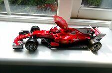 Grid Umbrella Ferrari Leclerc Vettel Schumacher F1 diorama part model 1:18 scale