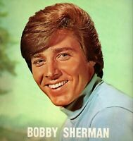 BOBBY SHERMAN FAN CLUB PROGRAM BOOK BOOKLET-EARLY 1970s-EXCELLENT TO NEAR MINT