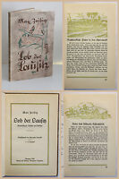 Zeibig Lob der Lausitz Wanderskizzen Aufsätze und Gedichte 1929 EA Sachsen sf