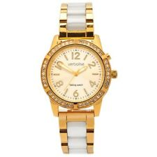 Ladies Gold Talking Watch, Stunning 42 Swarovski Sparkling Crystals, Dual Voice