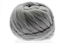 OHHIO Arm Knitting Merino Wool (23 microns) - Chunky Knitting - Gray 2.2 lb/1KG