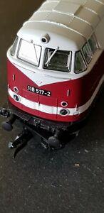 Modelleisenbahn spur tt lokomotiven, Diesellok, Deutsche Reichsbahn. TT-BAHN.