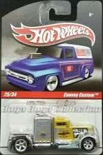 Hot Wheels Delivery Series Pennzoil Convoy Custom Yellow & Silver Real Riders