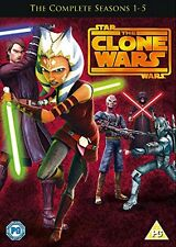 Star Wars - The Clone Wars: Complete Season 1 2 3 4 & 5 Box Set Series 1-5 | DVD