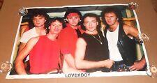 Loverboy #119 Original 80s Poster 34x23 RARE