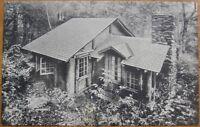 1930s Postcard - Long Trail Lodge - Rutland, Vermont VT