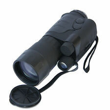 YUKON EXELON 4X50 NIGHT VISION MONOCULAR WITH CF-SUPER TUBE CARRY CASE & BATTERY