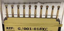 Dental Diamond Burr Extra Coarse ( 20 ) Round / Ball  (801) # G/001-018xc