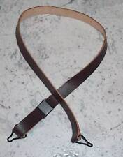U.s. Army M1 Leather Helmet Chin Strap - Ww2 Steel Pot MINT Original