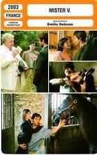 FICHE CINEMA : MISTER V - Demy,Atika,Catalifo,Deleuze 2003
