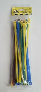 200MMX4.8MM COLOURED CABLE TIES