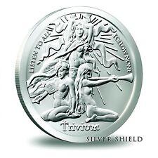 2015 1 oz Trivium Girls BU Silver Shield Group in Air Tite SSG SBSS 777