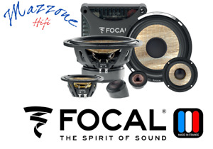 FOCAL FLAX EVO PS 165 F3E KIT 3 VIE WOOFER MID TWEETER CROSSOVER GRIGLIE CASSE