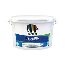 Caparol CapaDIN 12,5 Liter WEISS matt Innenfarbe Wandfarbe Deckenfarbe Malerweiß