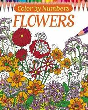 Color By Numbers - Flowers (Chartwell Coloring Books), Lennox, Else