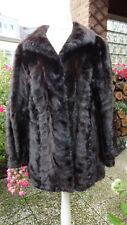 Nerz Jacke kurz Mantel Pelz Mink Größe 36-38 Braun
