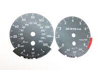 BMW 335IS E90, E92, E93 - OEM Speedometer dials MPH Gauges