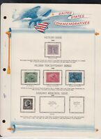 united states commemoratives victory issue etc 1919/20/23 stamps page ref 18274