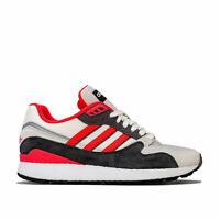 Mens adidas Originals Ultra Tech Trainers In Raw White / Shock Red / Grey Four-