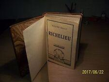 Richelieu Auguste Bailly Histoire édité en 1934 Sélection Sequana