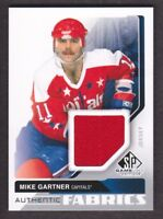 2014-15 SP Game Used Authentic Fabrics #AF-MG Mike Gartner Jersey Capitals