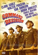 Command Decision (1948) - Clark Gable, Walter Pidgeon - DVD NEW