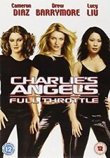 Charlie's Angels 2 Full Throttle DVD 2003 by Cameron Diaz Drew Barrymore