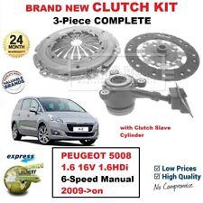 Pour Peugeot 5008 1.6 16V 1.6HDi 6-Speed Manuel 2009- > sur Neuf 3PC Kit