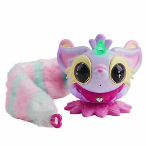 WowWee Pixie Belles - Layla (Purple) - Interactive Enchanted Animal Toy
