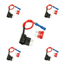 5 Set Add-a-circuit Fuse TAP Adapter Standard ATO ATC Auto Blade Fuse Holder GT