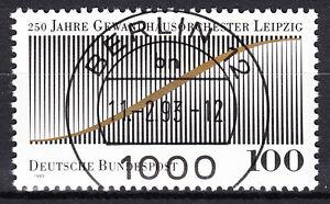 BRD 1993 Mi. Nr. 1654 gestempelt BERLIN 12 , mit Gummi TOP! (16632)
