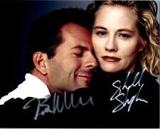 Bruce Willis Cybill Shepherd signed 8x10 Picture Photo autographed autograph COA