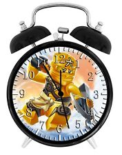 Lego Ninja Ninjago Alarm Desk Clock Nice For Decor or Gifts F149