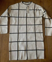 Sophyline!! New!! Women's, Smart Check, Stretch, Thick Dress Size M/L 12/14