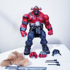 Custom Marvel Legends Asgardian Viking Red Hulk Figure