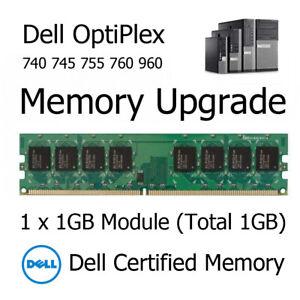 1GB DDR2 Memory Upgrade for Dell OptiPlex 740 745 755 760 PC2-5300U 667MHz RAM