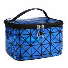 Multifunctional Cosmetic Bag Women Leather Travel Make Up Necessaries Organizer