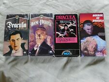Dracula VHS LOT classic HOUSE Horror BELA LUGOSI Christopher Lee FRANK LANGELLA