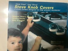 New, Child Proof Stove knob covers (4) Safety, helps to prevent accidents