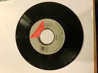 FOREIGNER 4 URGENT 45 RPM RECORD GIRL ON THE MOON