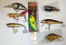 7 ASSORTED NEW Fresh  Fishing Lure