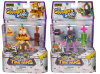 Grossery Gang Series 5 Time Wars Powered Up Gooey Chewie / Putrid Pizza Set