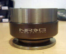SALE NRG GEN 2.0 QUICK RELEASE ADAPTER Gunmetal Body Titanium Ring