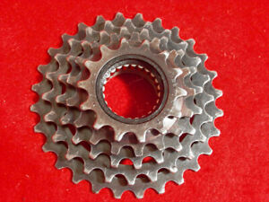 Maillard Freewheel 5 speed 14 - 28 Teeth French Threads Road Used