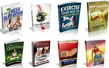 100 Health And Fitness eBooks Supplied With Master Resell Rights