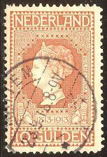 NETHERLANDS #101 Mint - 1913 10g Wilhelmina
