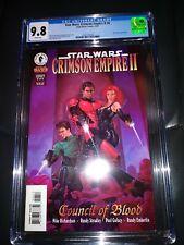 Star Wars Crimson Empire II #6 Mara Jade CGC 9.8 Super Hot Mandalorian Clone war