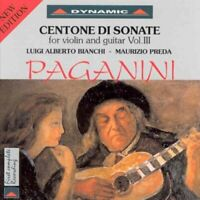 icolò Paganini - Paganini - Sonatas for Violin and Guitar Vol 3 [CD]