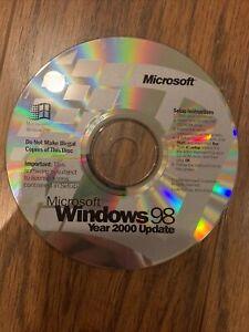 Microsoft Windows 98 Year 2000 Update Disk CD